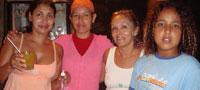 Susy, Creuzinha e equipe