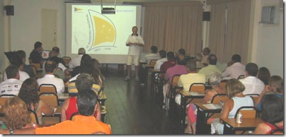 Palestra de lançmento do Encontro ABVC - 2008