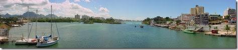 Guarapari vista da ponte