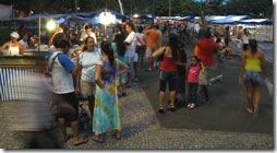 Tapioca na Praca dos Namorados - Foto © Hélio Viana
