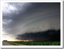 Tornado supostamente em Indaiatuba - Foto não sei de quem