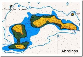 Detalhe da carta 1311 - Fundeadouros de Abrolhos