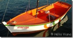 Atrevida, recém lançada no mar de Búzios - Foto © Hélio Viana