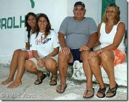 Família Gipsy Wind - Carol, Natália, Carlão e Maria - Foto © Hélio Viana