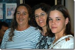 Mara, Rejane e Joana