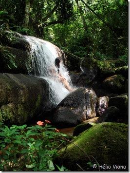 Mara na Cachoeira da Tapera