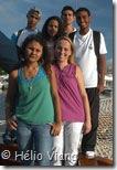 Fernanda Hofman e alunos - Foto © Hélio Viana
