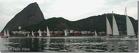 Largada do Costa Leste 2006 - Foto © Hélio Viana