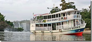 O Pasco Nunes do Projeto Navegar Amazonia