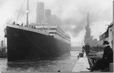 O Titanic nas docas