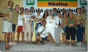 Tripulações do Costa Leste na Aratu-Maragogipe - Foto © Hélio Viana