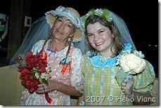 As noivas Aglaia e Dani - Foto © Hélio Viana