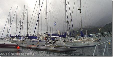 Flotilha do Cruzeiro da Amizade em Ilhabela - Foto © Natália Salvochea