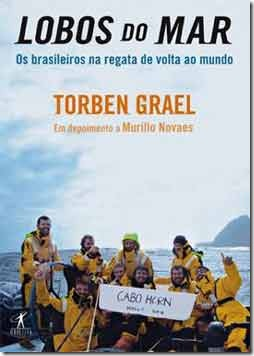 Capa do livro Lobos do Mar de Murillo Novaes
