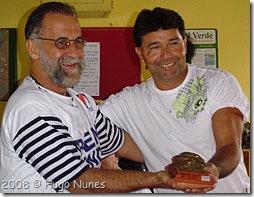 Ronaldo (de óculos) e Webber - Foto © Hugo Nunes