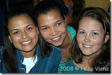 Lilian, Macanuda e Ju - Foto © Hélio Viana