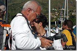 O mestre das fotos Carlo Borlenghi - Foto © Hélio Viana