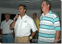 Janjão, Ricardo Ermel e Amatucci - Foto © Hélio Viana