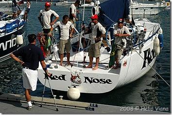 Torben e tripulação do Red Nose - Foto © Hélio Viana