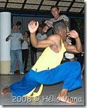 Ronald do Tuareg na capoeira - Foto © Hélio Viana
