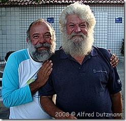 Hélio e o Papai Noel da Refeno - Foto © Alfred Dutzmann