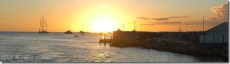 O Falcão Maltez ancorado em St. Maarten - Foto © Hélio Viana