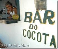 Cocota em seu bar - Foto © Hélio Viana
