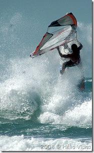 Fernandoem um dia de pouco vento - Foto © Hélio Viana