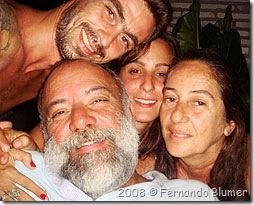 Nós felizes em Jeri - Foto © Fernando Blumer