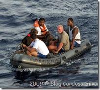 Resgate dos franceses - Foto © Blog Cardoso Silva