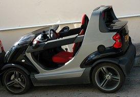 Smart Cabriolet-Gustávia