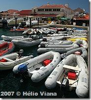 Engarrafamento de botes em Sint Marteen - Foto © Hélio Viana
