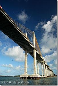 Ponte nova para a Ridinha - Foto © Hélio Viana