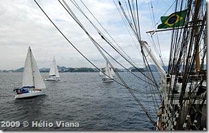 A flotilha do Costa Sul segue para Angra dos Reis