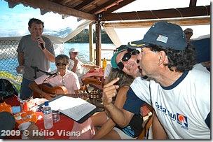 Ricardo ajudou Vitor e Susy - Foto © Hélio Viana