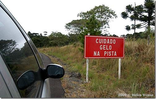 Na estrada entre São Joaquim e Urubici - Foto © Hélio Viana