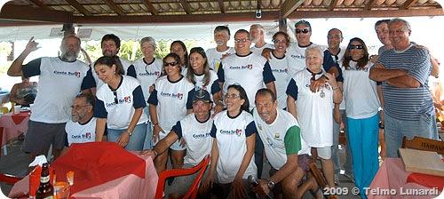 Voluntarios da Marina Bracuhy - Foto © Telmo Lunardi