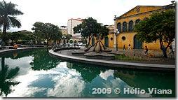 Largo da Alfândega no centro - Foto © Hélio Viana