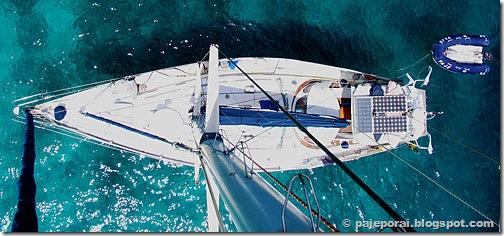 Pajé em Admiralty Bay © pajeporai.blogspot.com