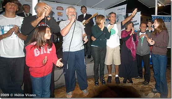 Phelippe e os vencedores do Rali Náutico - Foto © Hélio Viana