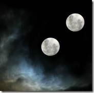 Duas Luas? © pesquei na net