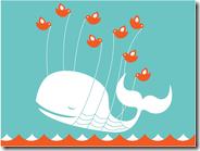 A Failwhale entra quando o Twitter sai do ar