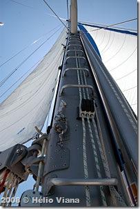 A escadaria para o céu - Foto © Hélio Viana