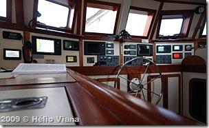 O pilot house parece de um navio - Foto © Hélio Viana