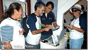 Reinaldo Murolo com Mara, Ivan e Egle - Foto © Hélio Viana
