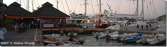 O Soggy Dollar na Palapa Marina - Foto © Hélio Viana