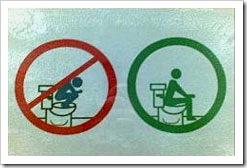 Proibido subir no vaso