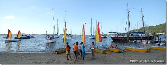 Alunos da ANI durante o Costa Sul - Foto © Hélio Viana
