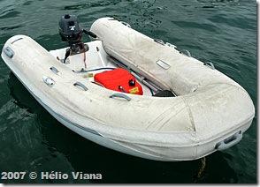 Capa do bote Caribe - Foto © Hélio Viana