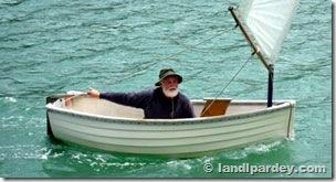 Larry velejando no Cheeky Foto © landlpardey.com